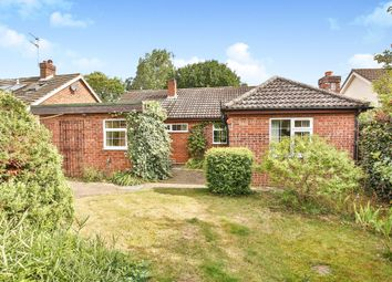 Thumbnail 4 bed detached bungalow for sale in School Road, Drayton, Norwich