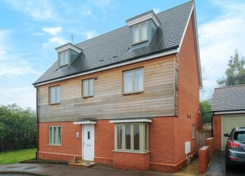 Thumbnail 5 bed detached house to rent in Campbell Road, Hereford