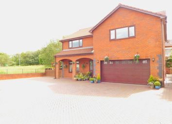 Thumbnail 4 bedroom detached house for sale in Garbett Place, Crynant, Neath