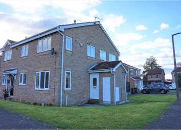 Thumbnail 1 bed end terrace house for sale in Meadow Croft, Doncaster