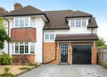 Thumbnail Semi-detached house for sale in Severn Drive, Esher, Surrey