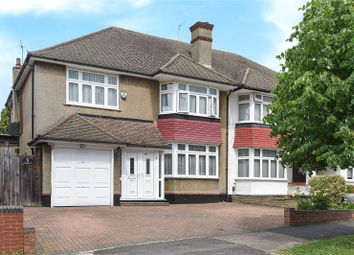 Thumbnail 4 bed semi-detached house for sale in Jesmond Way, Stanmore, Middlesex