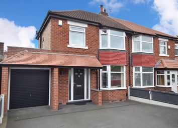 Thumbnail 3 bed semi-detached house for sale in Aber Road, Cheadle