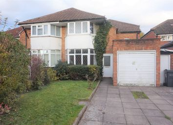 Thumbnail 3 bed semi-detached house for sale in Walter Cobb Drive, Boldmere, Sutton Coldfield