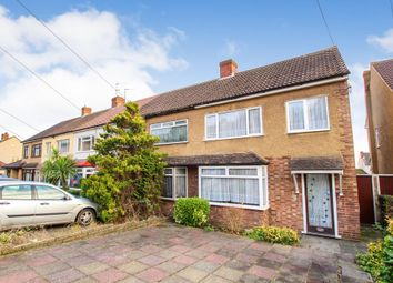 Thumbnail 3 bed terraced house for sale in Ashvale Gardens, Collier Row, Romford, Essex