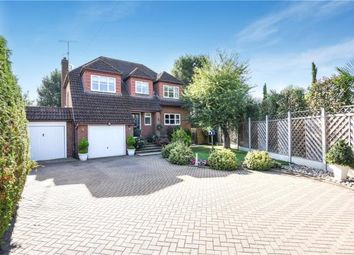 Thumbnail 4 bed detached house for sale in Brookside Avenue, Wraysbury, Staines-Upon-Thames
