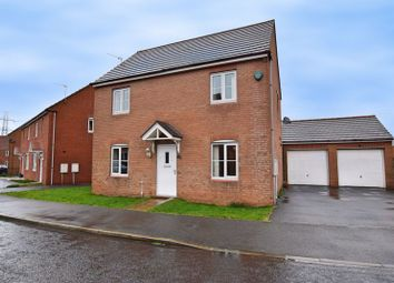 Thumbnail 3 bed detached house for sale in Cloverfield, West Allotment, Newcastle Upon Tyne