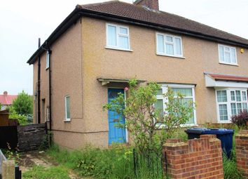 Thumbnail 3 bed semi-detached house for sale in Wedmore Road, Greenford, Middlesex