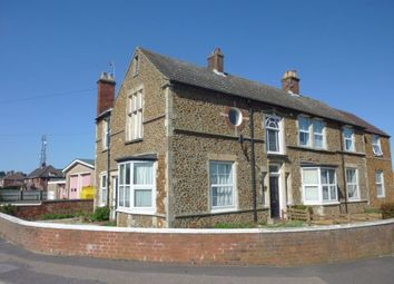 Thumbnail 1 bedroom flat to rent in Downs Road, Hunstanton