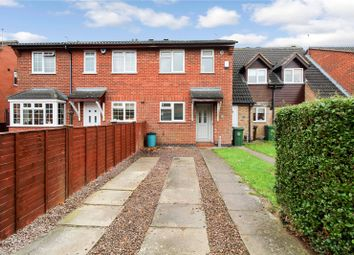 Thumbnail 2 bed semi-detached house for sale in Heath Avenue, Syston, Leicester, Leicestershire