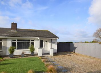 Thumbnail 3 bed semi-detached bungalow for sale in Mewstone Avenue, Wembury, Plymouth, Devon