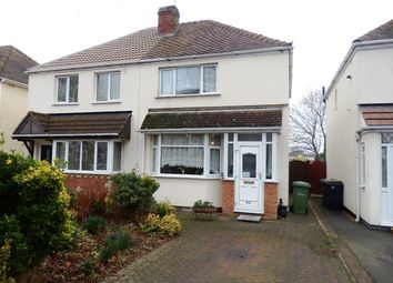 Thumbnail 2 bed semi-detached house for sale in Greenmoor Road, Nuneaton