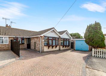 Thumbnail 3 bed semi-detached bungalow for sale in Eastmead, Pagham, Bognor Regis