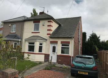 Thumbnail 3 bedroom semi-detached house for sale in Dene Terrace, Jarrow
