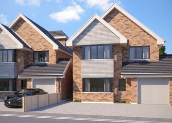 Thumbnail 5 bed detached house for sale in Cromwell Avenue, Billericay
