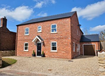 Thumbnail 4 bed detached house for sale in Maidenwell Lane, Navenby, Lincoln