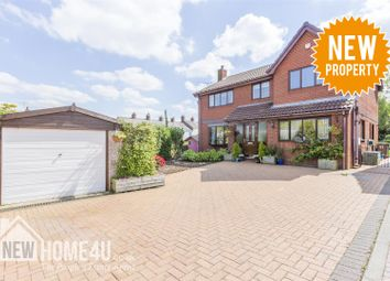 Thumbnail 4 bedroom detached house for sale in Church Walk, Vicarage Road, Bagillt