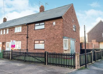 Thumbnail 2 bed end terrace house for sale in Stoke Street, Hull