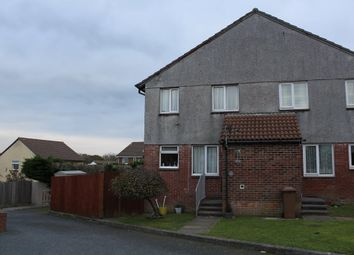 Thumbnail 1 bedroom end terrace house to rent in Holloway Gardens, Plymstock, Plymouth