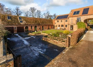 Thumbnail 5 bed barn conversion for sale in Biggin Hall Lane, Thurlaston, Rugby