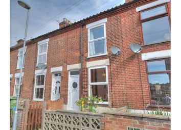 Thumbnail 3 bedroom terraced house for sale in Gertrude Road, Norwich