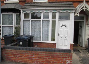 Thumbnail Terraced house for sale in Benton Road, Sparkbrook, Birmingham