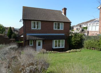 Thumbnail 4 bed detached house to rent in Fieldridge, Newbury