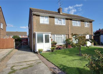 Thumbnail 3 bedroom semi-detached house for sale in Fittleworth Close, Goring By Sea, Worthing, West Sussex