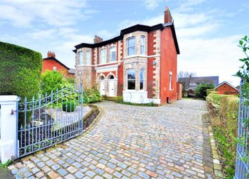 Thumbnail 4 bed semi-detached house for sale in Black Bull Lane, Fulwood, Preston, Lancashire