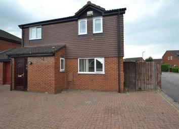 Thumbnail 3 bed link-detached house for sale in Rowan Close, Wellingborough, Northamptonshire