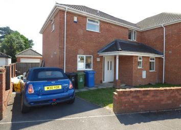 Thumbnail 3 bed semi-detached house to rent in Scott Road, Wallisdown