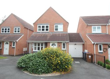 Thumbnail 3 bedroom detached house for sale in Beatty Close, Hinckley