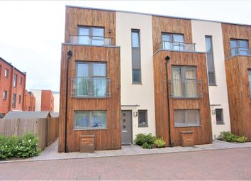 Thumbnail 3 bed town house for sale in Longley Road, Chichester