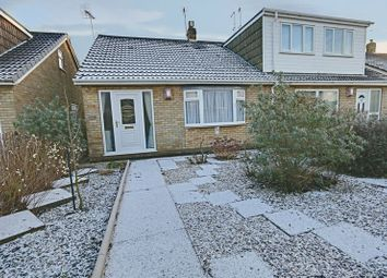 Thumbnail 2 bed semi-detached bungalow for sale in Grizedale, Sutton-On-Hull, Hull