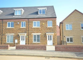 Thumbnail 3 bedroom end terrace house for sale in Dragonfly Way, Dragonfly Meadows, Northampton