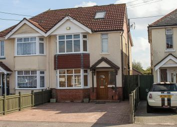Thumbnail 4 bed semi-detached house for sale in Stannington Crescent, Totton, Southampton