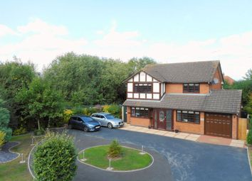 Thumbnail 4 bed detached house for sale in Firbeck Gardens, Crewe