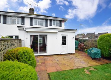 Thumbnail 3 bed semi-detached house for sale in The Martlets, Rustington, West Sussex