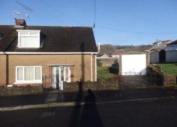 Thumbnail 2 bed semi-detached house for sale in Dolau Fan Road, Graig, Burry Port