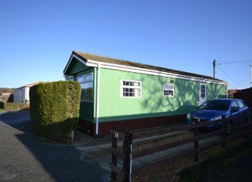 Thumbnail 2 bed mobile/park home for sale in Sheepbridge Caravan Park, Snettisham, King's Lynn