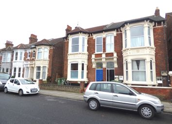 Thumbnail 2 bed flat to rent in Festing Road, Southsea