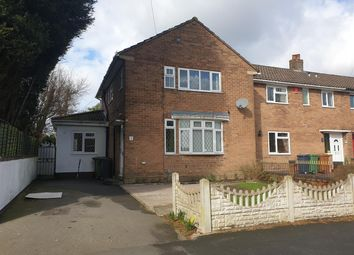 Thumbnail 3 bed end terrace house to rent in Poplar Road, Brownhills, Walsall