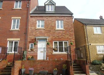 Thumbnail 4 bed end terrace house for sale in Meadow Rise, Lydney, Gloucestershire
