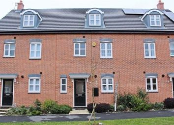 Thumbnail 4 bedroom terraced house to rent in Anglian Way, Stoke
