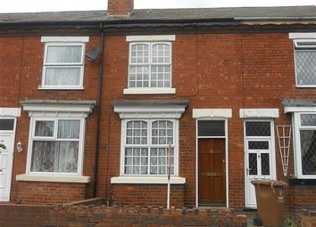 Thumbnail 3 bedroom terraced house to rent in West Bromwich Road, Walsall