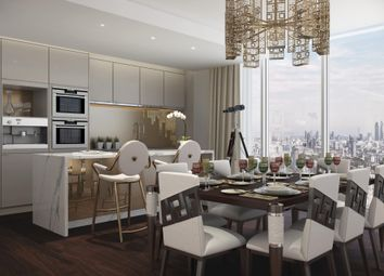 Thumbnail 2 bed flat for sale in Damac Tower, Nine Elms, London
