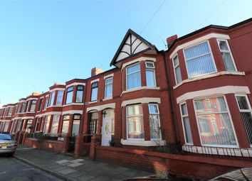 Thumbnail 3 bed terraced house for sale in Kingsley Road, Wallasey, Wirral CH444Ds