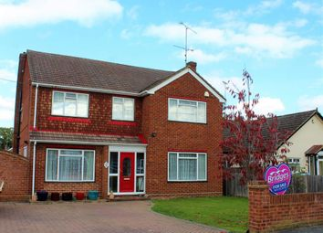 Thumbnail 4 bed detached house for sale in Wood Street, Ash Vale
