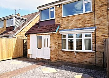 Thumbnail 3 bedroom semi-detached house for sale in Jendale, Hull