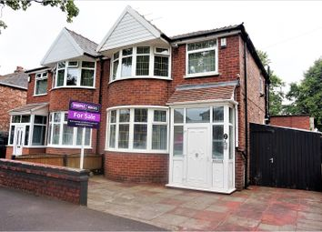 Thumbnail 3 bed semi-detached house for sale in Great Stone Road, Manchester